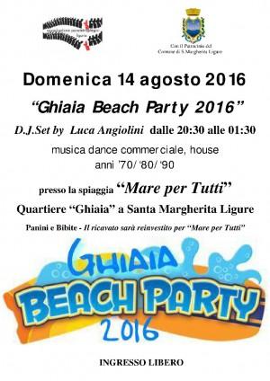 Ghiaia Beach Party